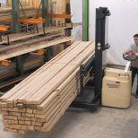 Long loads electric stacker :: HUBTEX EGPL