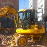 Mini excavator :: KOMATSU PW 98