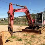 Mini excavator :: NEUSON 8002
