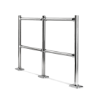 Modular fixed barriers :: CARTTEC MODULAR CRTT