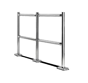 Modular fixed barriers CARTTEC MODULAR CRTT