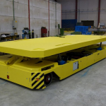 Omnidirectional AGV with electric lifting device :: DTA