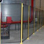 Perimeter industrial safety fencing :: SACINE