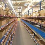 Pick to light system for order preparation :: ASTI
