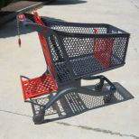 Plastic shopping trolley :: CARTTEC 220L