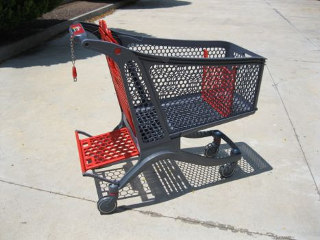 Plastic shopping trolley CARTTEC 220L