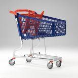 Polysteel shopping trolley :: MARSANZ 160L GRAN CARGA