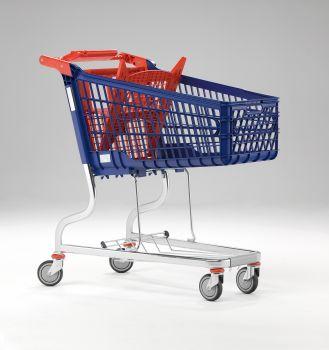 Polysteel shopping trolley MARSANZ 160L GRAN CARGA