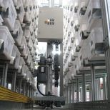 Rack servicing crane (RBG) :: ASTI Miniload