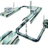 Radiant heating gas continuous tube :: AMBIRAD Nor-Ray-Vac