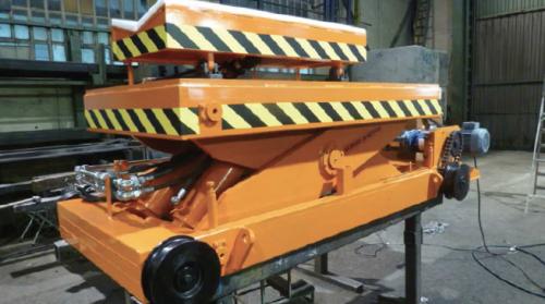 Reel holder platform cart LEIZA