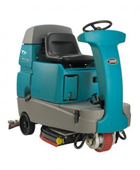 Ride-on floor scrubber dryer TENNANT T7+