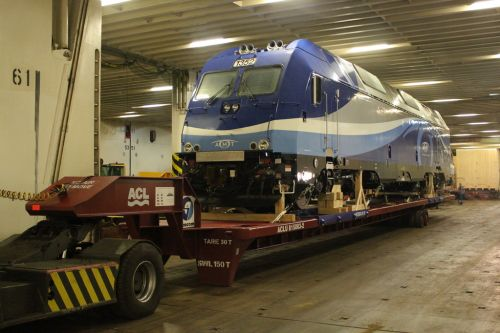 Rolltrailer for the internal transport of wagons DTA