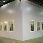 Pre-fabricated booths