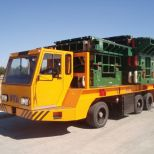 Self-propelled electric truck for the transport of dies :: DTA