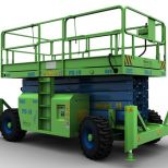 Self propelled scissor lift :: EMC PE-18