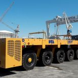Self propelled trailer for shipyard application :: DTA