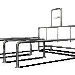 Shopping cart corral :: CARTTEC T STD CRTT