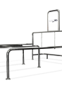 Shopping cart corral CARTTEC T STD CRTT