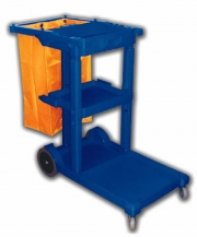 Single cleaning trolley MAXTEL