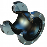 Spherical molded rubber expansion joint :: SAFETECH Flexel CGII