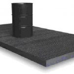 Spill containment sump flooring