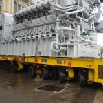 Self-propelled modular transporters SPMT