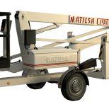 Trailer mounted aerial work platform :: Matilsa Parma 12