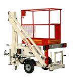 Trailer mounted aerial work platform :: Matilsa Parma 7