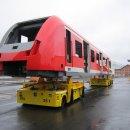 Transfer cart system for handling wagons :: DTA