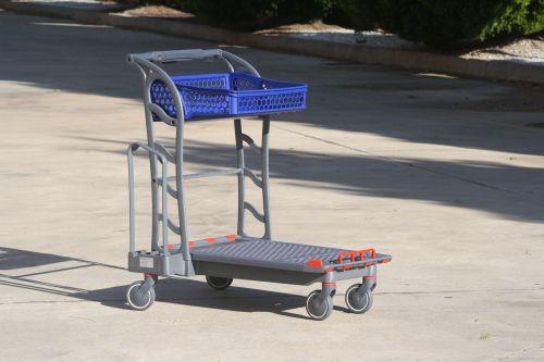 D.I.Y. trolley CARTTEC F150 Flat carrier