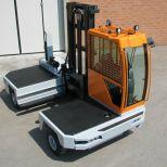 Two way side loader forklift :: HUBTEX 3700 Series