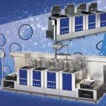 Ultrasonic cleaning line :: ELMA XTRA-LINE