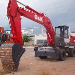 Wheel excavator :: O&K MH6