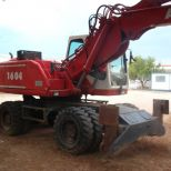 Wheel excavator :: ATLAS 1604 M
