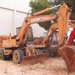 Wheel excavator :: CASE POCLAIN 1088