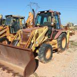 Wheel loader :: CASE 580SK