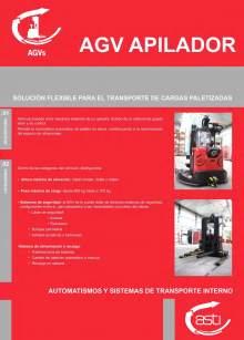 AGVs apiladores ASTI