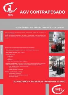AGVs contrapesados ASTI