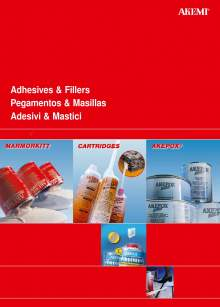 AKEMI. Adhesives and fillers catalog