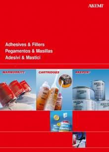 AKEMI. Adhesives and fillers catalog