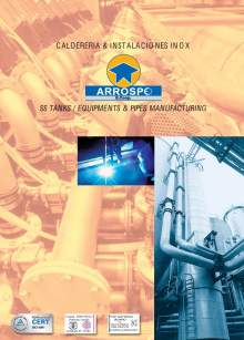 ARROSPE boiler making main catalog