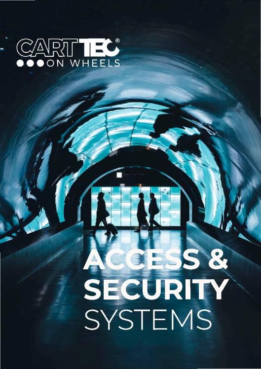 CARTTEC AIRPORT. Sistemas de acceso y seguridad. Catálogo 2019 inglés 1
