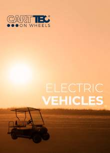 CARTTEC AIRPORT. Electric vehicles golf carts. 2019 english catalog