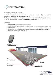 CARTTEC CARTCONTROL. Shopping cart containment