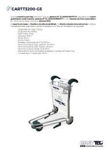 CARTTEC CARTT3200-G5. Airport cart