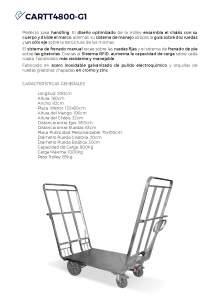 CARTTEC CARTT4800-G1. Airport cart