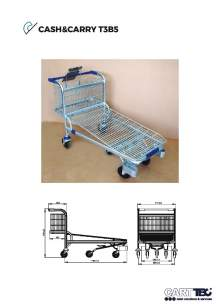CARTTEC  CASH&CARRY T3B5. D.I.Y. trolley