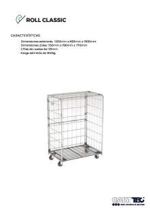 CARTTEC  Classic. Roll container