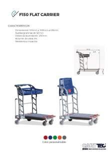CARTTEC  F150 Flat carrier. D.I.Y. trolley